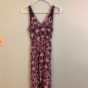 Express Maxi Dress, Purple Pattern